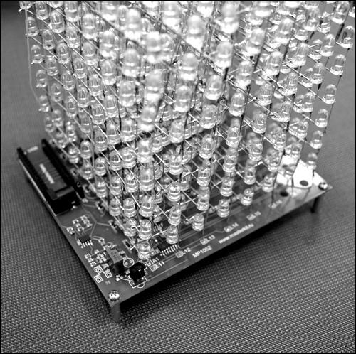 Лед куб своими руками