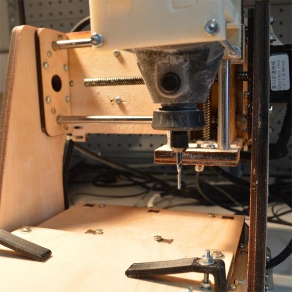 3-х осевой фрезерный станок с ЧПУ. Конструктор