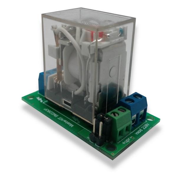 Силовое реле с опторазвязкой для управления электроприборами мощностью до 4 кВт (20А).
