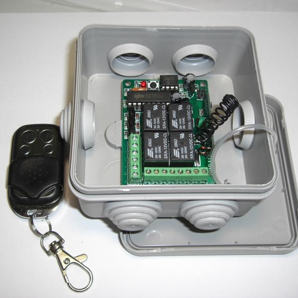 Вариант установки в стандартную монтажную коробку