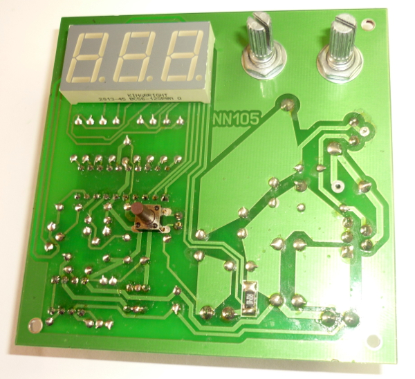 Лабораторный блок питания 1,2…37В 0…3А (набор для пайки)