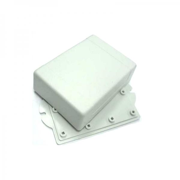 Корпус пластиковый белый 90х65х30 мм с крепежными проушинами