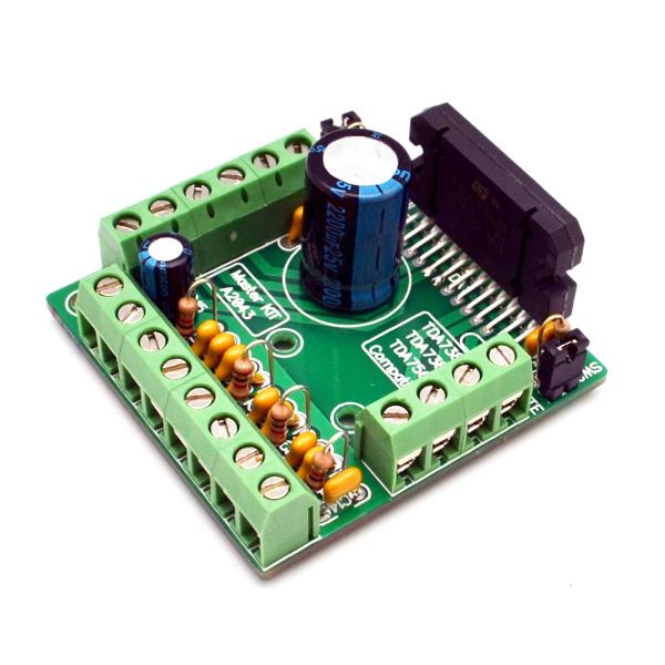 Усилитель НЧ 4х77 Вт (TDA7560)