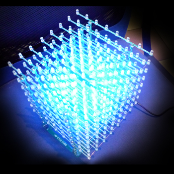 LED CUBE 8x8x8 - Каркас