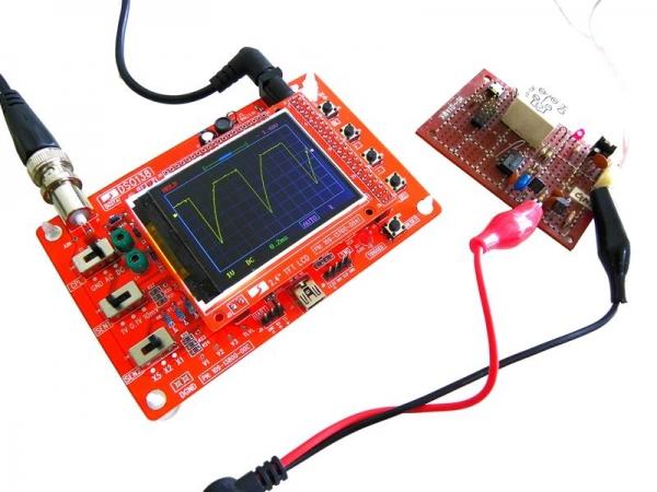 DIY-лаборатория: Компактный цифровой осциллограф