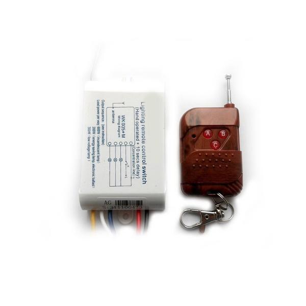 Беспроводной комплект управления освещением диапазона 433 МГц (три канала по 2 кВт)