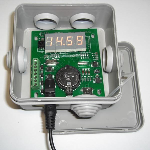 MP350 - Вариант установки модуля в стандартную монтажную коробку