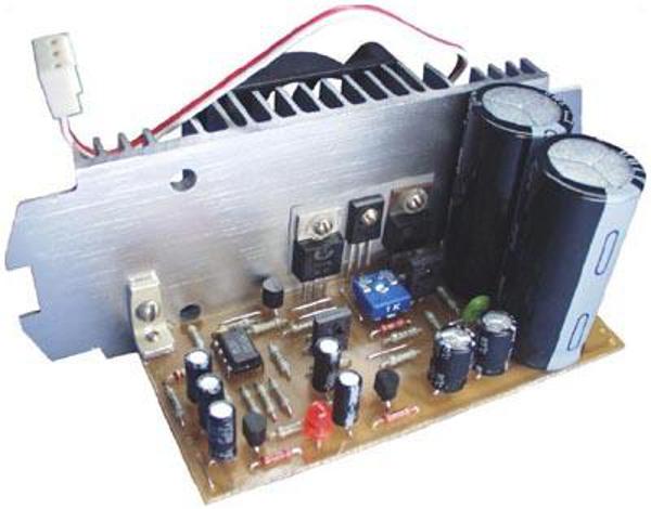 Набор для сборки усилителя НЧ 80 Вт (TIP102, TIP106)