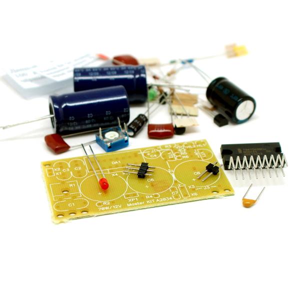 Набор для сборки усилителя НЧ 70Вт, моно (TDA1562, авто)