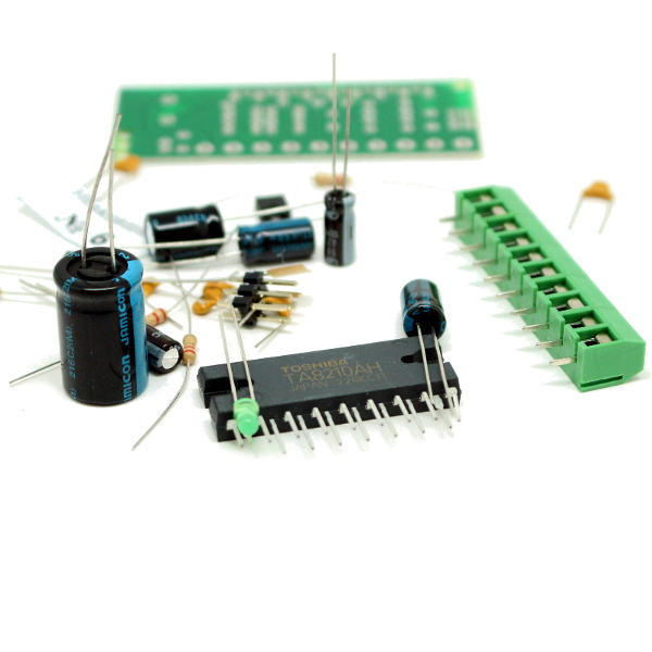 Набор для сборки усилителя НЧ 2x22Вт (TA8210, авто)