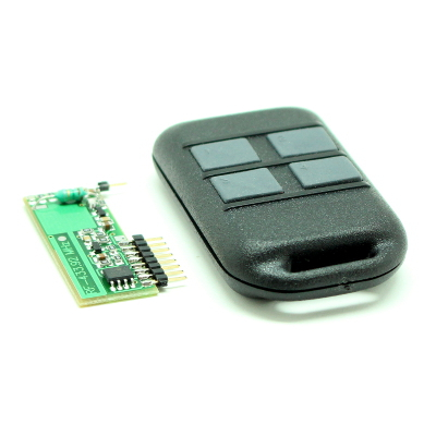 MK324 - Комплект программируемого 4-х канального дистанционного управления 433 МГц