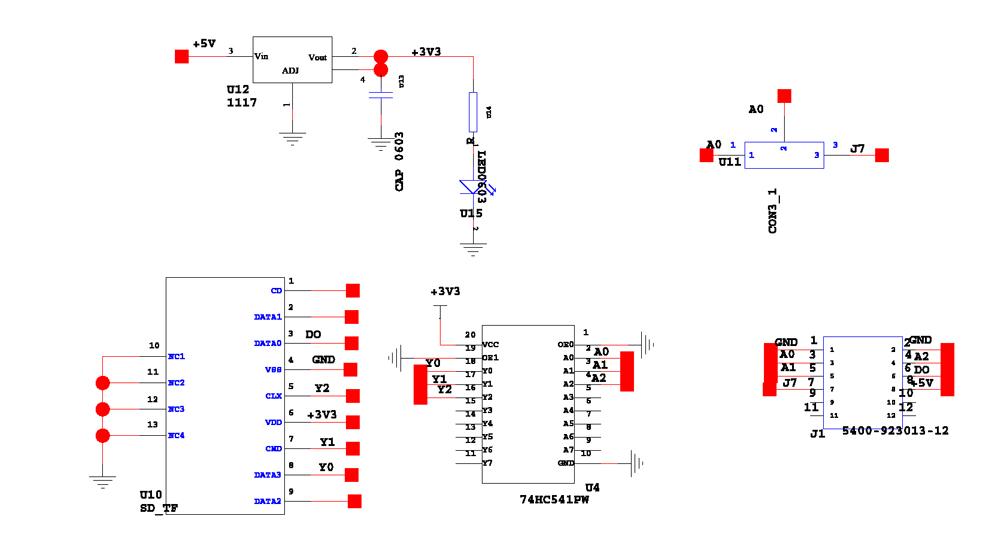 Схемы. 3D SD Ramps - Плата для