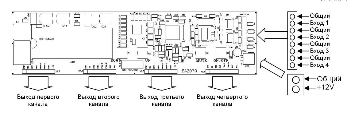 BM2072 - Усилитель мощности