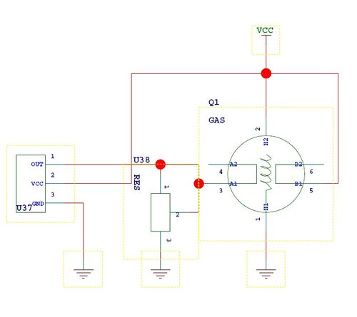 MP526 - Датчик газа MQ-2 -