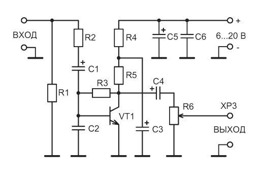 NK137 - Микрофонный усилитель
