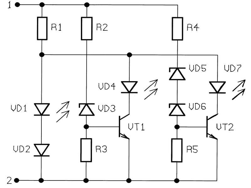NM8021 - Индикатор уровня