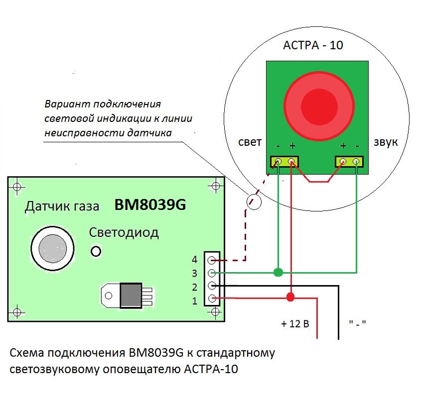 BM8039G - Датчик утечки
