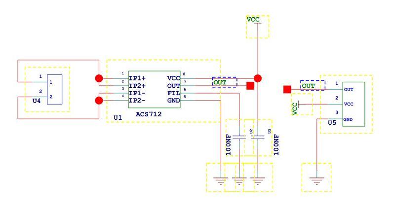 MP592 - Аналоговый датчик тока