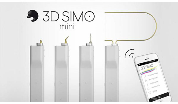 Ручка-мультитул 3D Simo Mini для творчества