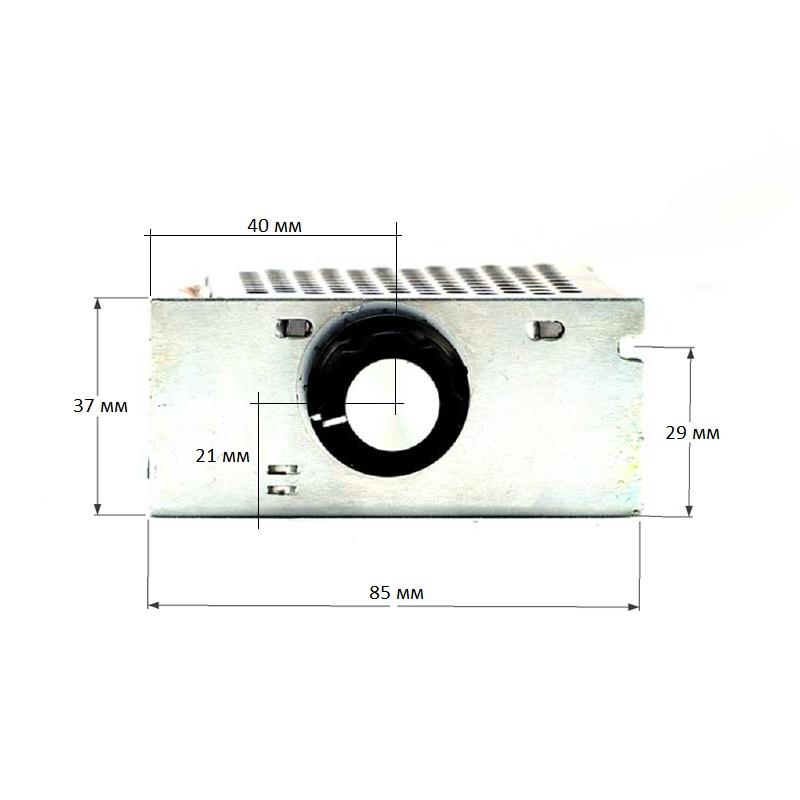 Схема - MK067M - Регулятор мощности 220В / 4 кВт (18А) в корпусе с радиатором