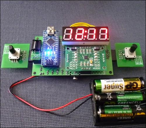 радиоконструктор под контролем Arduino в сборе