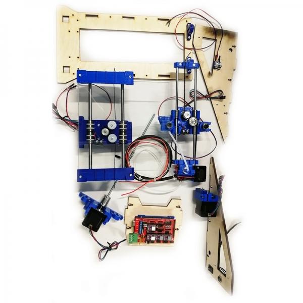 Модульный 3D принтер-конструктор, 3D START v2.0