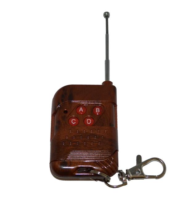 Беспроводной комплект управления освещением 12В/220В диапазона 433 мГц (4 приемника по 1кВт)