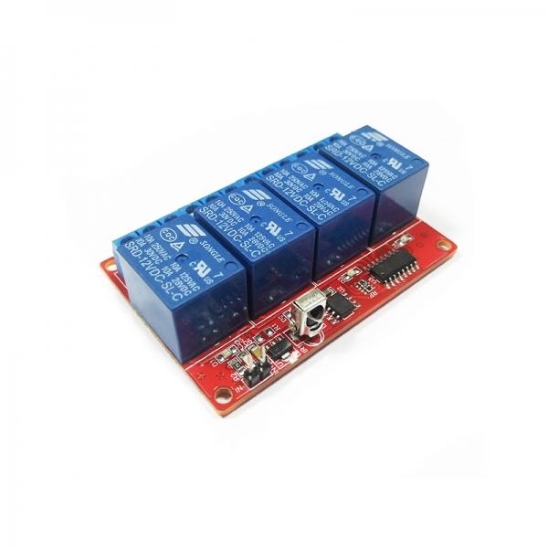 Комплект беспроводного управления по ИК-каналу (4 реле до 2 кВт)