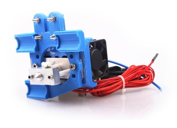 Экструдер для 3D принтера REPRAP. Модель Makerbot MK8, 0.35, 3mm