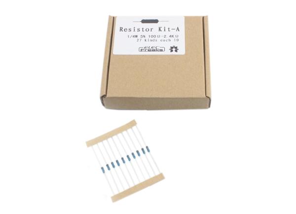 Набор резисторов A (0.25 Вт. 5%, 270 шт.)