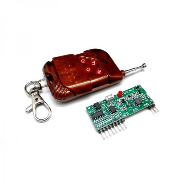 Комплект беспроводного управления диапазона 433 МГц (4 канала) PRO