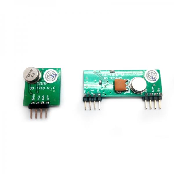 Комплект беспроводного приемника и передатчика большой дальности 433 мГц