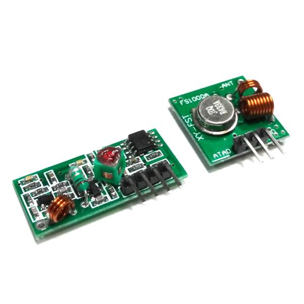 Комплект беспроводного приемника и передатчика диапазона 433 мГц