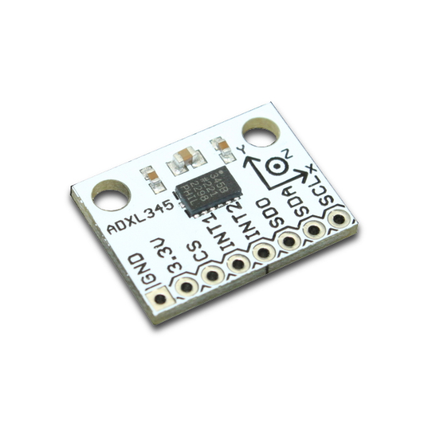 Трёхосевой акселерометр с цифровым интерфейсом (I2C)