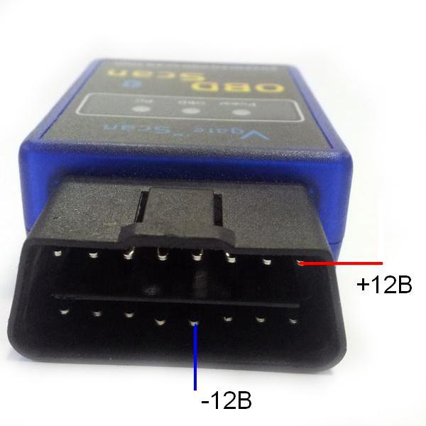 Универсальный автомобильный Bluetooth - OBD2 сканер