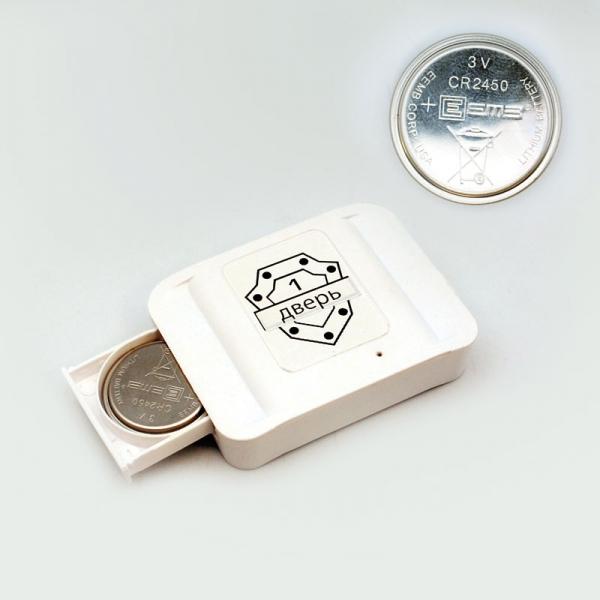 Универсальный датчик для Охранятора (белый) + магнит
