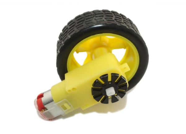 Колесо с мотором
