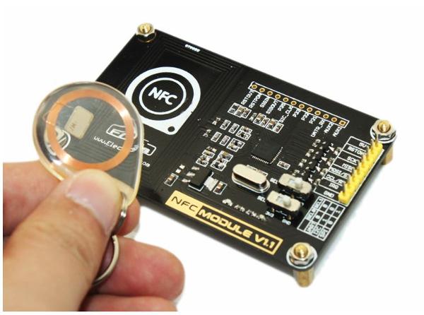 Модуль считывателя NFC меток