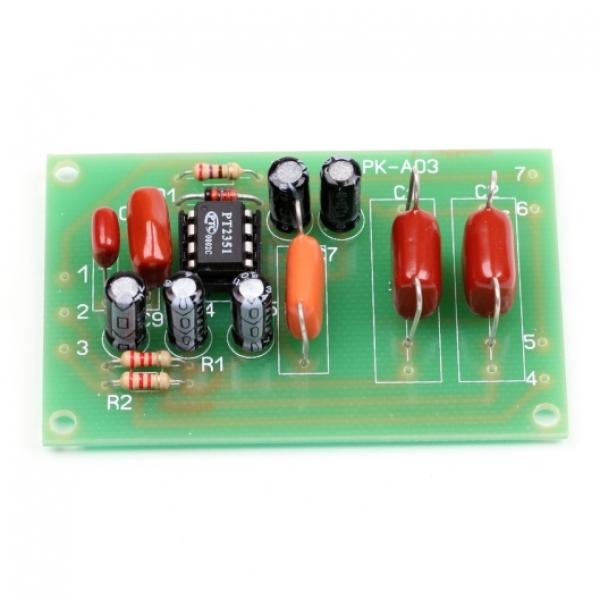 Набор для сборки фильтра низких частот для сабвуфера (ФНЧ)