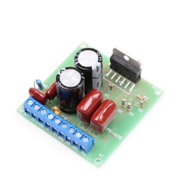 Оконечный усилитель НЧ 2х25 Вт (TDA7265) - набор для пайки