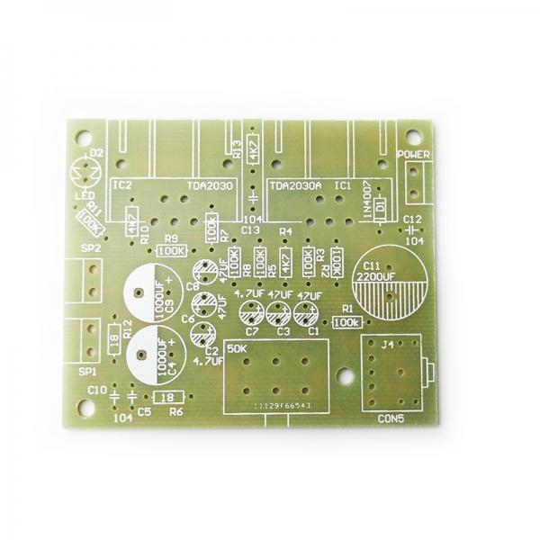 Набор радиолюбителя для сборки стерео усилителя НЧ (2.0) в корпусе
