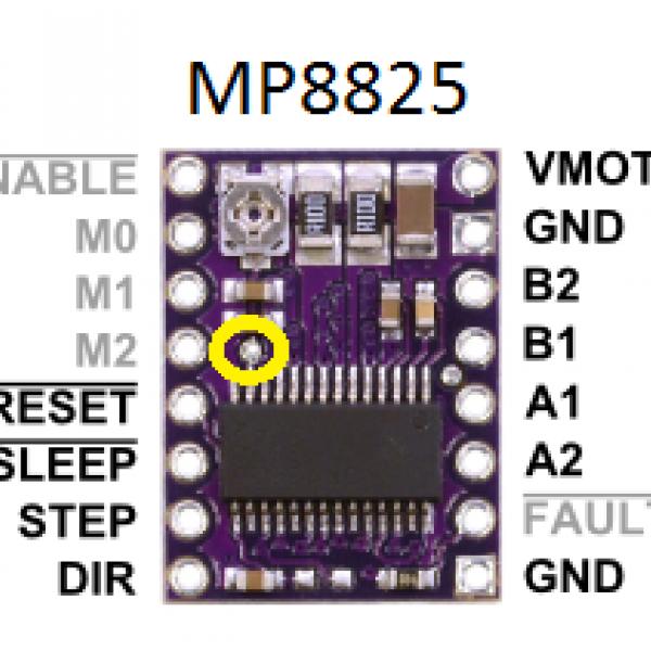 Драйвер шагового двигателя DRV8825