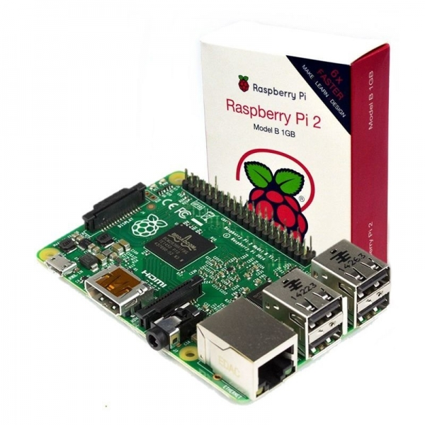 Миникомпьютер Raspberry Pi 2 Model B 1GB