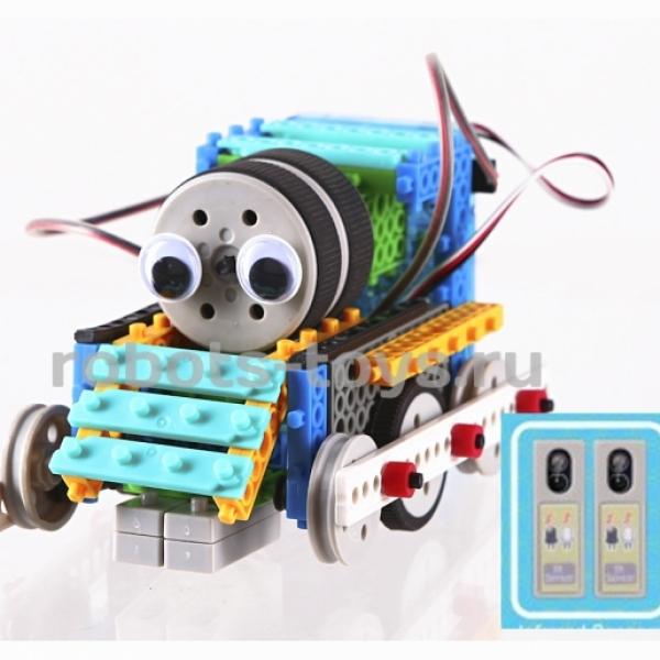 Конструктор роботов MRT sensing, HUNA Fun & Bot 2 (4 робота с сенсорами)