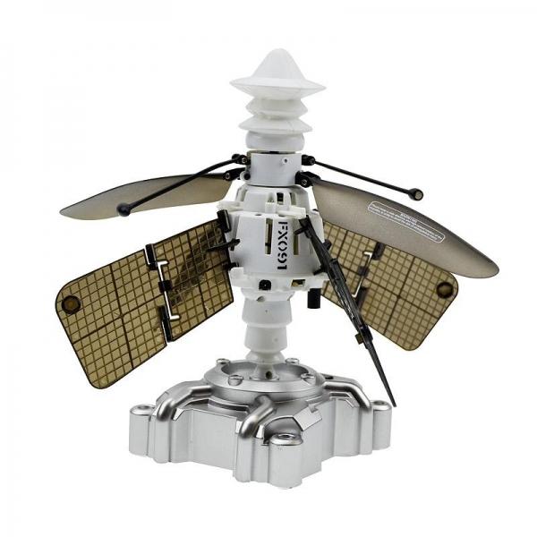 Летающий орбитальный спутник