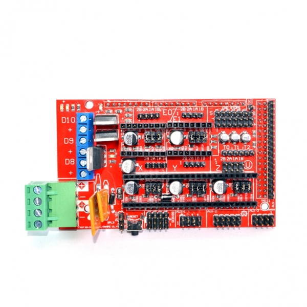 RAMPS 1.4 это шилд (надстройка) для Arduino Mega 2560-16 U2.