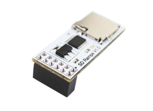 Плата для установки micro sd на 3D-принтер