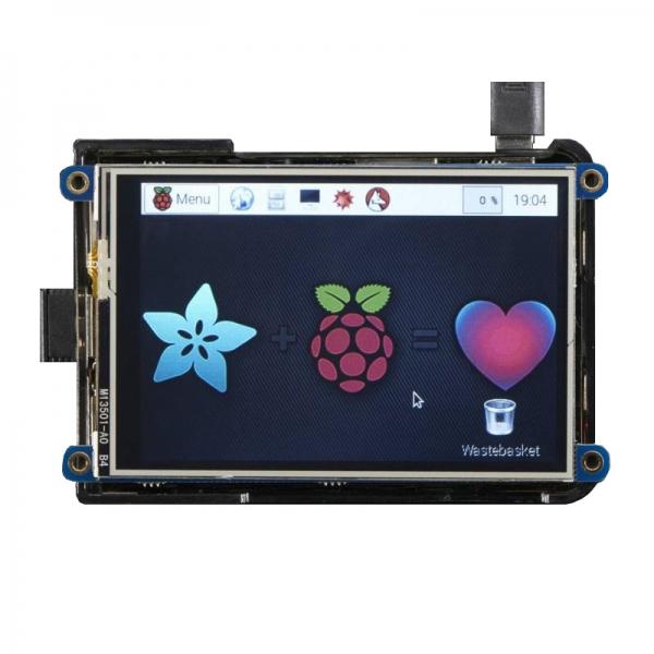 Сенсорный экран для Raspberry Pi (PiTFT Plus 480x320 3.5`` TFT)