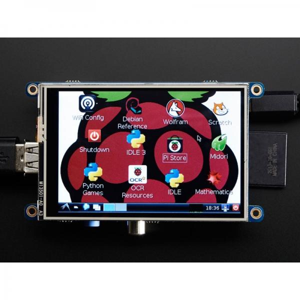 Сенсорный экран для Raspberry Pi (Assembled 480x320 3.5`` TFT)