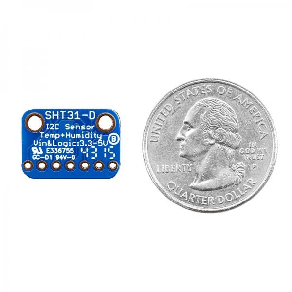 Датчик температуры и влажности с высокочувствительным сенсором SHT31-D